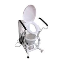 Крісло для туалету з підйомним пристроєм стаціонарне MIRID LWY001