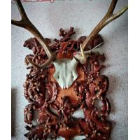 Дерев'яні настінні медальйони