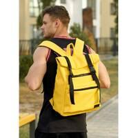 Чоловічий рюкзак ролл Sambag RollTop LTT жовтий