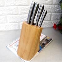 Набор ножей 6 предметов из нержавеющей стали на подставке Kamille