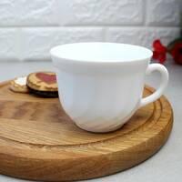 Біла чайна чашка без блюдця Luminarc Trianon 220 мл (D6921)