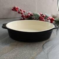 Овальная жаропрочная форма для духовки HLS 35х20,5х7 см (4817)