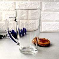 Чашки і кухлі скляні без деколи
