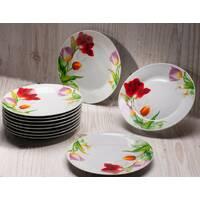 Фарфоровые столовые сервизы и тарелки
