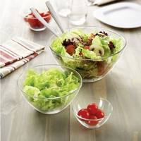 Салатники і салатниці скляні