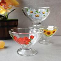 Скляні креманки для десертів