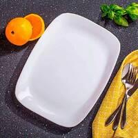 Прямокутне плоске блюдо для сервіровки Bormioli Rocco Parma 28х21 см