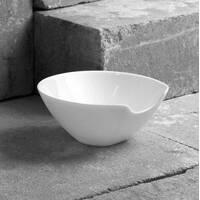 Салатник білий c виїмкою для ложки Luminarc Salenco 165 mm (L7832)