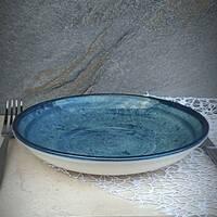 Бірюзова глибока тарілка Kutahya Porselen Corendon 210 мм (NB3121)