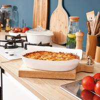 Прямокутна жароміцна форма для запікання Luminarc Smart Cuisine Carine 30x22 см (p8332)