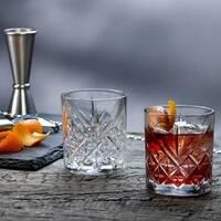 Набор низких стаканов для виски Pasabahce Timeless 345 мл 4 шт (52790)