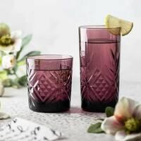 Набор стаканов высоких из цветного стекла Luminarc Зальцбург Лилак 380 мл 6 шт (P9279)