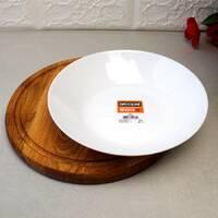 Біла напівпорційна тарілка Arcopal Zelie 200 мм (L4003)