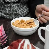 Салатник білий із загартованого скла Arcoroc Restaurant 120 мм (43319)