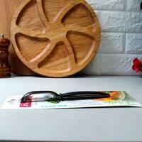 Овощечистка-економка з нержавіючої сталі і нековзною ручкою 17*2.3*1.5 см