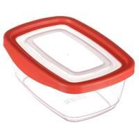 Прямоугольный высокий судок для пищи с плотной крышкой Keeper 0.8 л