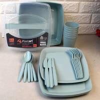 Набор посуды для пикника на 6 персон 32 предмета