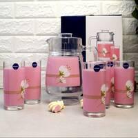 Набор для напоїв Luminarc Olivia Pink 7 предметів (Q5624)