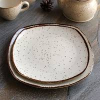 Підставна квадратна мармурова тарілка Kutahya Porselen Atlantis 230 мм (CR3223)