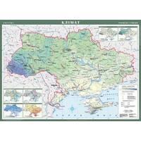 Україна. Клімат, м-б 1 : 1 000 000 (на планках)