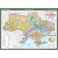 Україна. Грунти, м-б 1 : 1 000 000