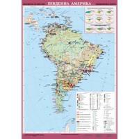 Карти Південної Америки