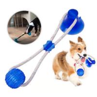 Іграшка для домашніх тварин, М'яч на мотузку з присоском