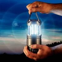 Кемпінговий світлодіодний ліхтар на сонячних батареях G85