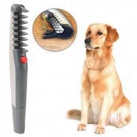 Гребінець для шерсті Кnot out electric pet grooming comb WN - 34