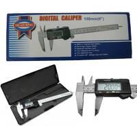 Штангенциркуль електронний з LCD дисплеєм  Digital caliper 150мм