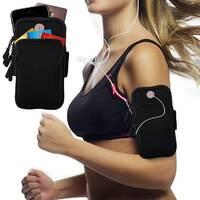 Сумка для бігу Double arm package   сумка - чохол на руку J&B Чорний