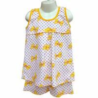 Піжама для дівчинки (майка + шорти)