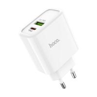 Мережевий адаптер живлення Hoco C57A White HOCO Speed C57A |Type - C/USB, PD/QC3.0, 3a|