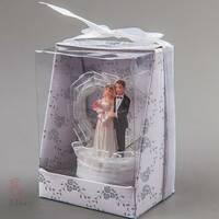 """Фігурка """"Жених і наречена"""" на весільний торт (8 см) (041q)"""