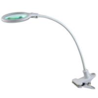 3D Лампа-лупа LED настільна мод. 2014 на прищипці