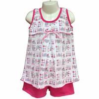 Піжама для дівчинки (майка+шорти)