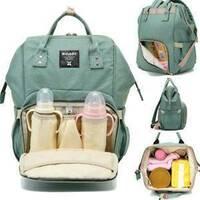 Сумка-рюкзак для мам MOTHER BAG el - 1230 ЗЕЛЕНА