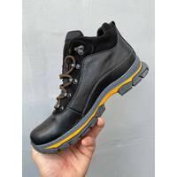 Чоловічі черевики шкіряні зимові чорні Brand E