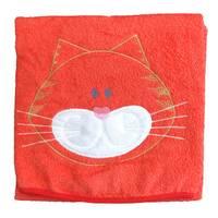 Дитячий рушник «Котик» з вишивкою/ 90•90