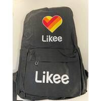 Рюкзак міський місткий Likee R261 Чорний