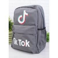 Рюкзак міський місткий TikTok R271 Сірий