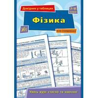 Довідник у таблицях - Фізика. 7-11 класи Автор: Столяревська Н. В.