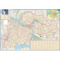 Дніпропетровська область.  Карта автомобільних доріг