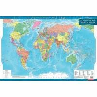 Политическая карта мира, м-б 1:35 000 000 (ламінована) 98.00 X 68.00 см