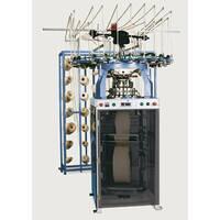 Високошвидкісна круглов'язальна машина для виробництва ластичного полотна, модель SERIE J