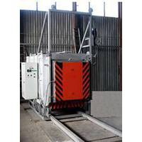 Electric furnace roll-out of hearth-LMS 15.20.7 / 12