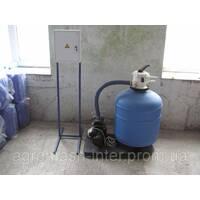 Механический песочный фильтр 6 м3 в ч