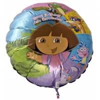 Шары фольгированные Dora The Explorer