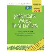 ЗНО: Украинский язык и литература Мини-конспекты