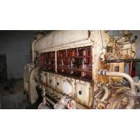 Генератор дизельный ДГА-300 (электростанция) 300 кВт (375 кВа), низкооборотный